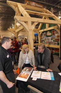Show Photo – Log & Timber Frame Building