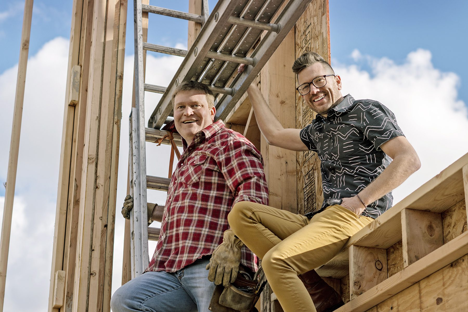 "Luke Caldwell & Clint Robertson of HGTV's ""Boise Boys"""