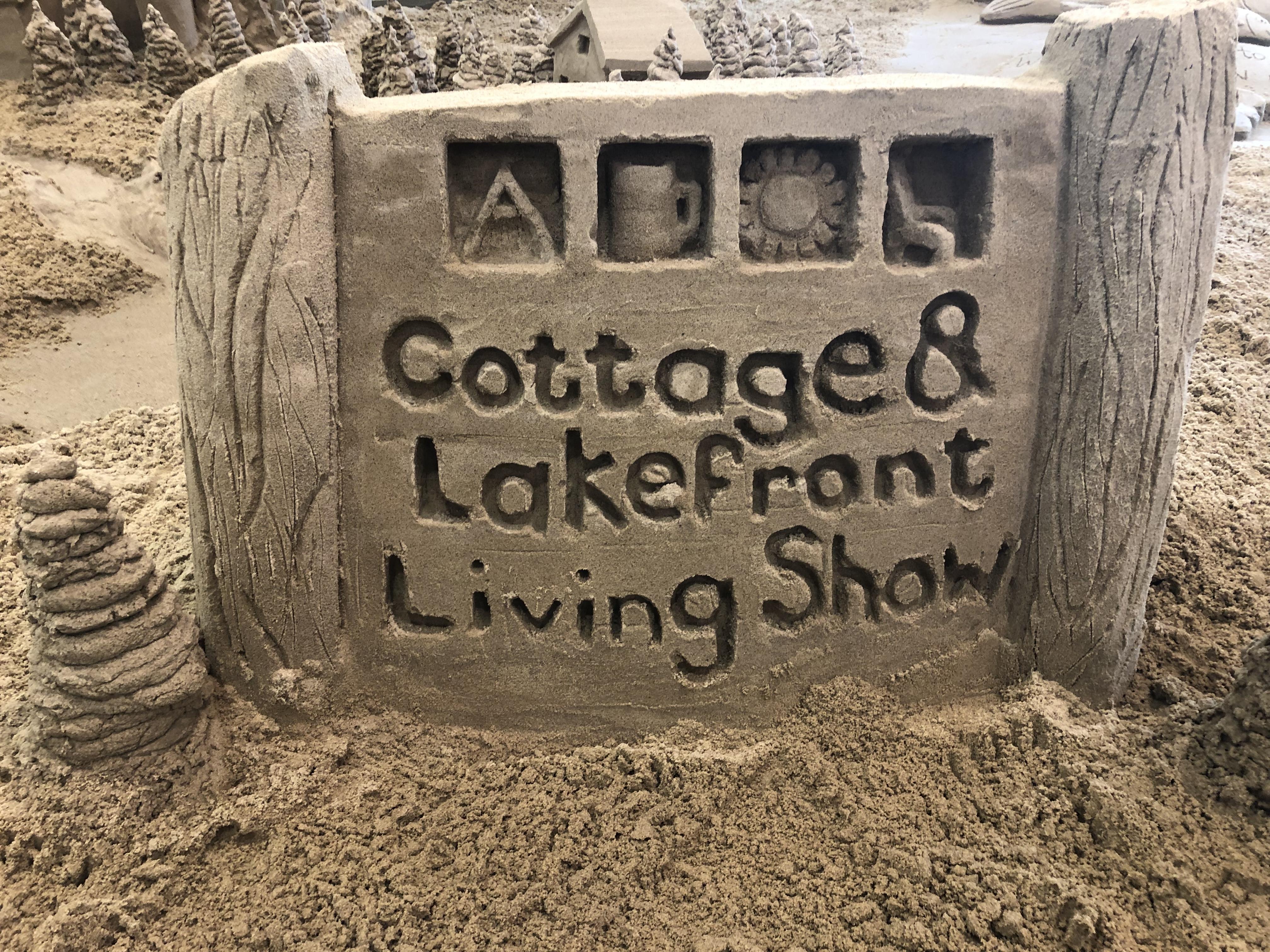 Giant Sand Castle Build