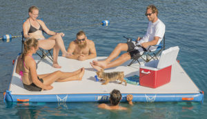 Win a HO Sports iLand – Inflatable Floating Dock!