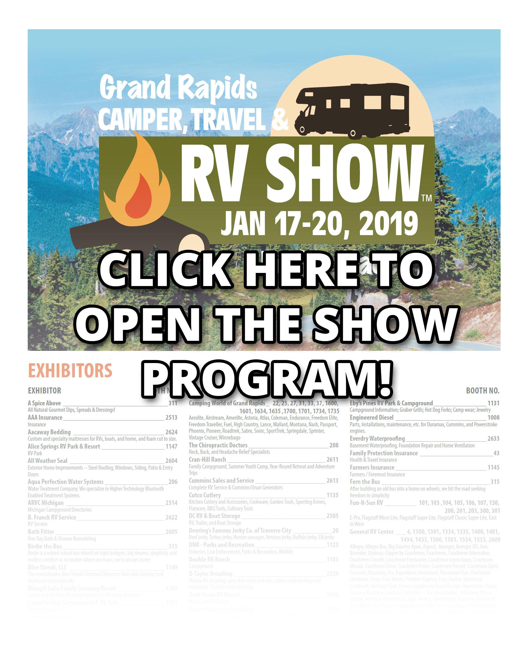 Grand Rapids Camper, Travel & RV Show