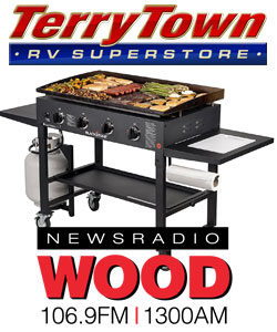 Enter to Win A Blackstone Griddle!