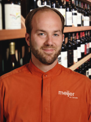 David Stanley, Meijer Wine and Beverage Steward