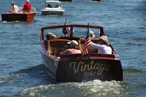 Antique & Classic Boat Display