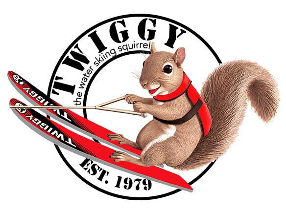 Twiggy the Water-Skiing Squirrel Returns to the Milwaukee Boat Show!