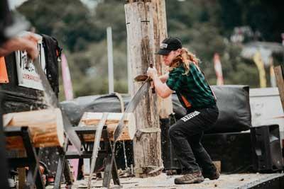 Timberworks Lumberjack Show