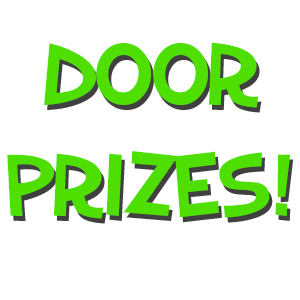 Win Door Prizes Every Hour!