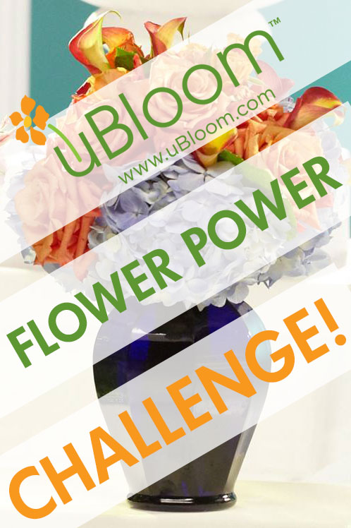 uBloom Flower Power Charity Challenge!